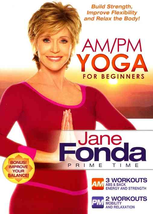 JANE FONDA AM/PM YOGA FOR BEGINNERS BY FONDA,JANE (DVD)